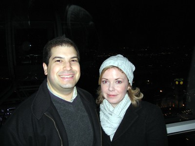 Craig and Sarah on The London Eye