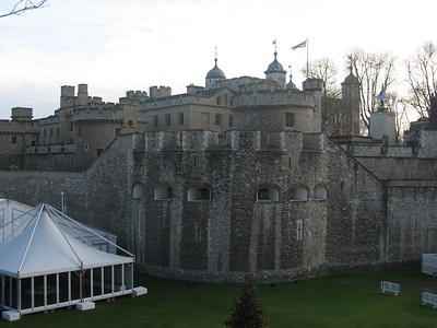 The Tower moat, which has been filled, is now available for private parties.