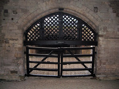 Traitor's Gate, the entrance to the Tower from the River Thames