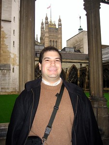 Craig at the Collegiate Church of St Peter, Westminster (a.k.a. Westminster Abbey)