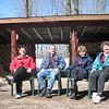 DOUG,BILL SCHMIDT, PAM & BONNIE SCHMIDT WORKING HARD SYRUPING 3/06