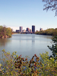Rochester from the park