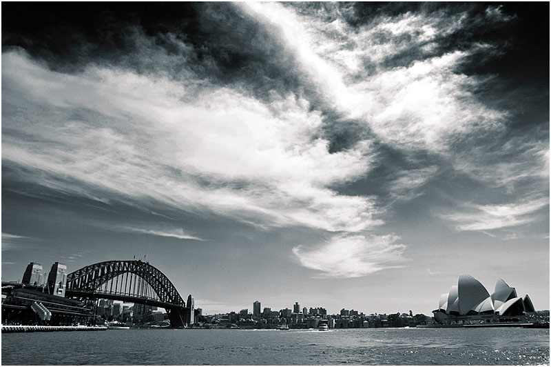 Sydney Harbour, Friday March 10th 2006. <br /> <br /> EXIF DATA <br /> Canon 1D Mk II. EF 17-35mm f/2.8L@17mm 1/250 f/16 ISO 200