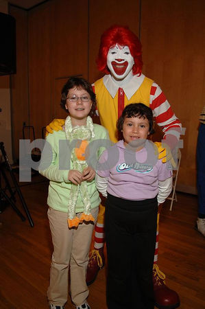 Lauren & Carolyn Partanio and Ronald McDonald