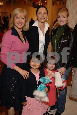 Kathleen Demochi, Sheila Rosenblum, Colleen Rein. Children  Emily Post & Morgan Rein
