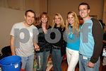 Jeff Koons, Jill Zarin, Debra Wasser, Allison Weiss, Chip Brady