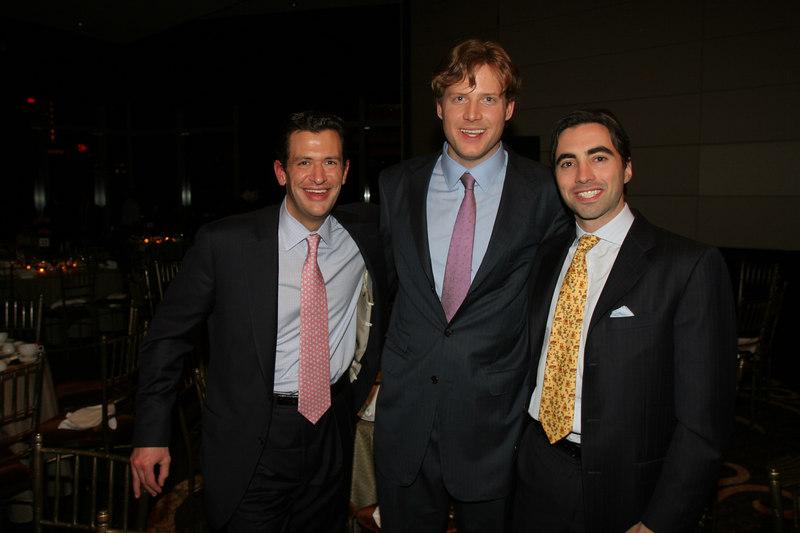 Kevin Wilson, Charles Rockefeller & Claude Shaw