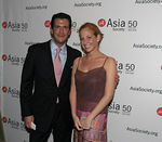 Alexandra Wilkis & Kevin Wilson at the Asia Society Collectors and Young Patrons Dinner following International Art Fair Benefit Preview