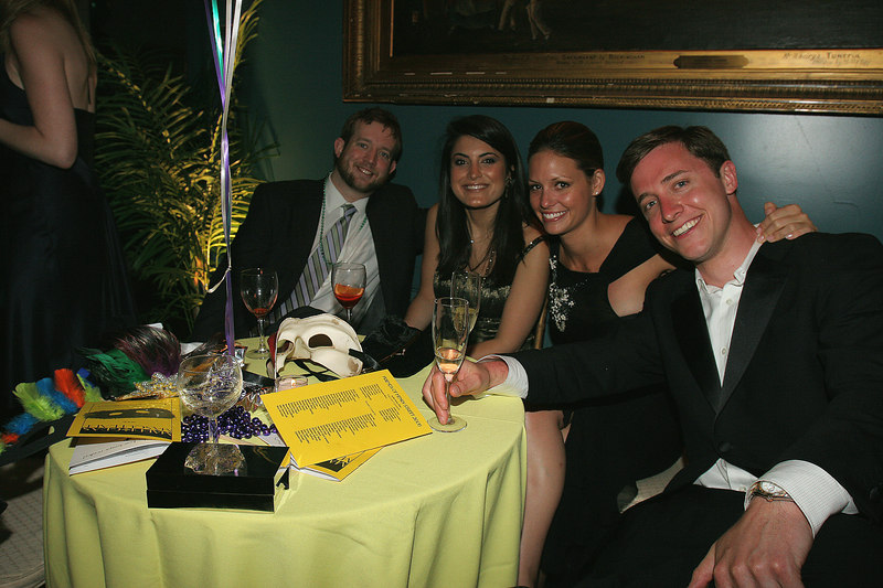 (R-L) Steven Locke, Lindsey Bromley, Ashley Atiyeh Sam Miles