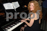 Pianist Cathy Harley