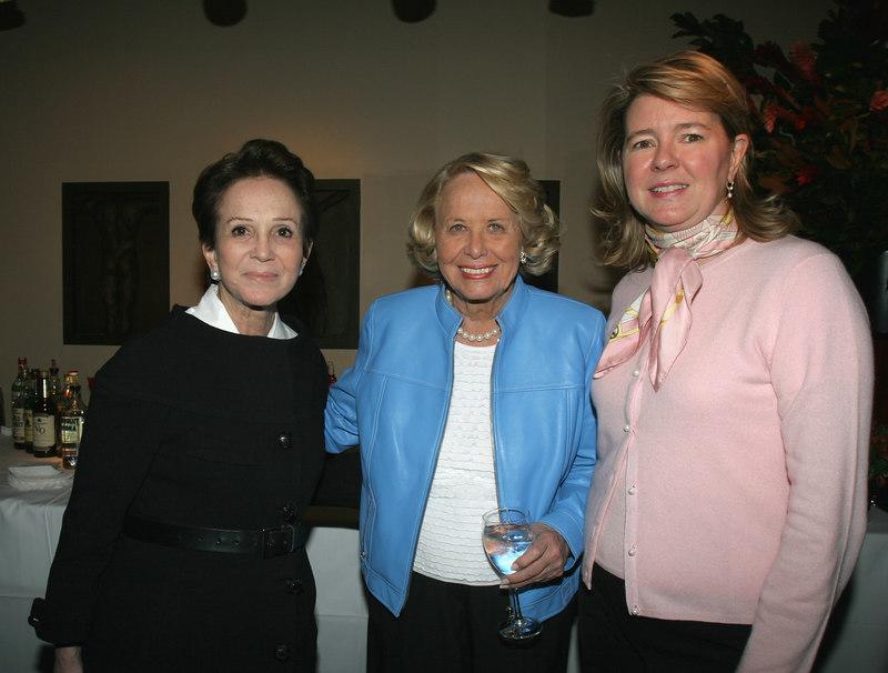 Harriet Weintraub, Liz Smith & ?