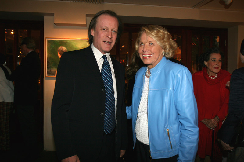 Patrick McMullan & Liz Smith