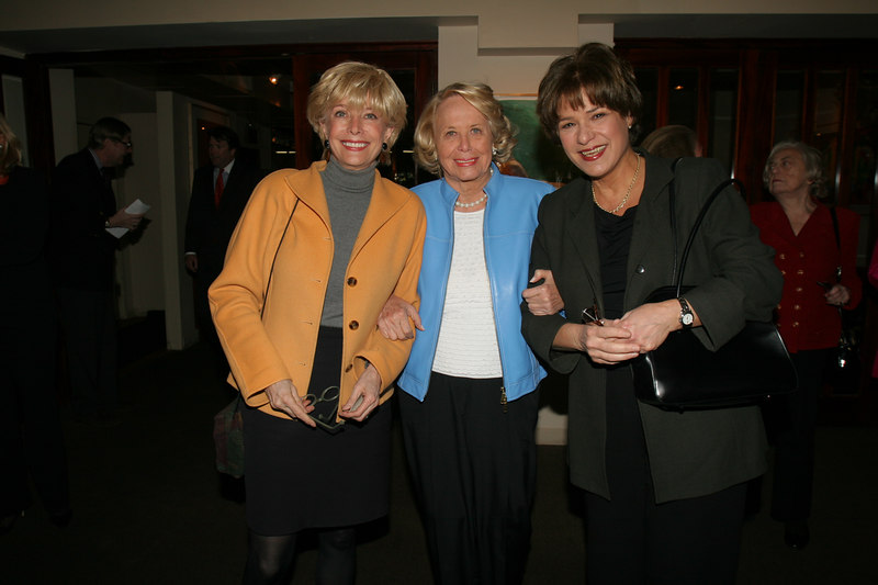 "<a href=""http://www.cbsnews.com/stories/1998/07/09/60minutes/main13546.shtml"">Lesley Stahl</a>, <a href=""http://www.nypost.com/gossip/liz/liz.htm"">Liz Smith</a> and <a href=""http://www.minonline.com/minday/bio_jackie_leo.html"">Jackie Leo </a>"