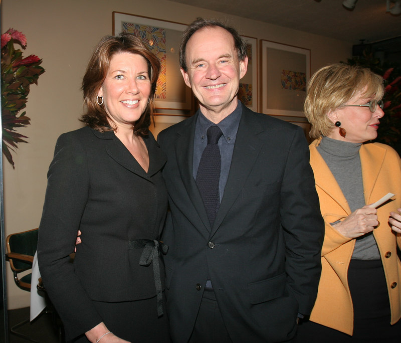 "<a href=""http://www.sesameworkshop.org/aboutus/inside_management.php#westin"">Sherrie Rollins Westin</a>  & <a href=""http://www.bsfllp.com/htm/flash.htm"">David Boies</a> (with Lesley Stahl in background)"