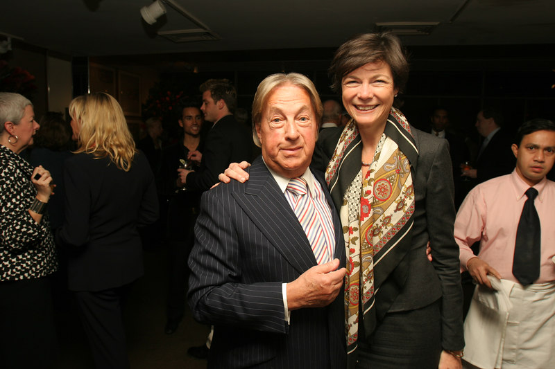 Arnold Scassi & Diana Taylor