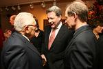 Henry Kissinger, David Westin & David Boies