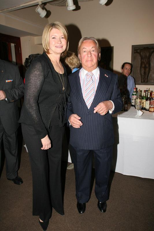Martha Stewart & Arnold Scassi
