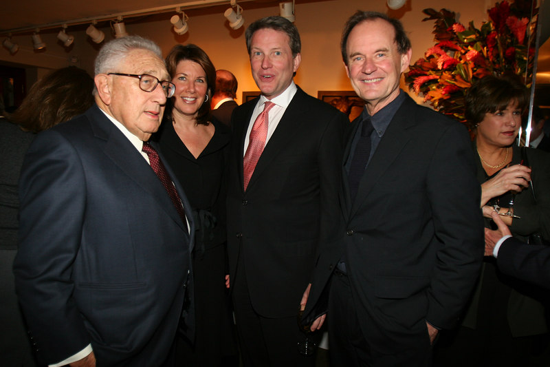 "<a href=""http://en.wikipedia.org/wiki/Henry_Kissinger"">Henry Kissinger</a>, Sherrie Rollins Westin, David Westin & David Boies"