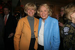 "<a href=""http://www.cbsnews.com/stories/1998/07/09/60minutes/main13546.shtml"">Lesley Stahl</a> and <a href=""http://www.nypost.com/gossip/liz/liz.htm"">Liz Smith</a>"