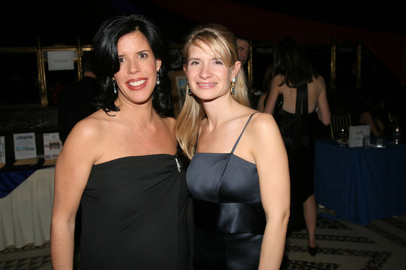 "NEW YORK-MARCH 4: Winter Ball Co-Chairs, 2005-2006, Michaela King Roth & Nikki L. Brown  attend NEW YORK JUNIOR LEAGUE'S 54th Annual Winter Ball, ""Circo""  at Cipriani 42nd Street, 110 East 42nd Street, New York City, New York on Friday, March 4, 2006 (Photo Credit: Christopher London/ManhattanSociety.com)"