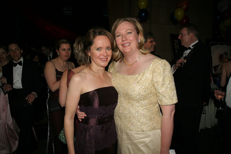 "NEW YORK-MARCH 4: Trisha G. Duval (Incoming NYJL President, July 1, 2006-June 30, 2008) with former NYJL President, Mary Beth C. Tully attend NEW YORK JUNIOR LEAGUE'S 54th Annual Winter Ball, ""Circo""  at Cipriani 42nd Street, 110 East 42nd Street, New York City, New York on Friday, March 4, 2006 (Photo Credit: Christopher London/ManhattanSociety.com)"