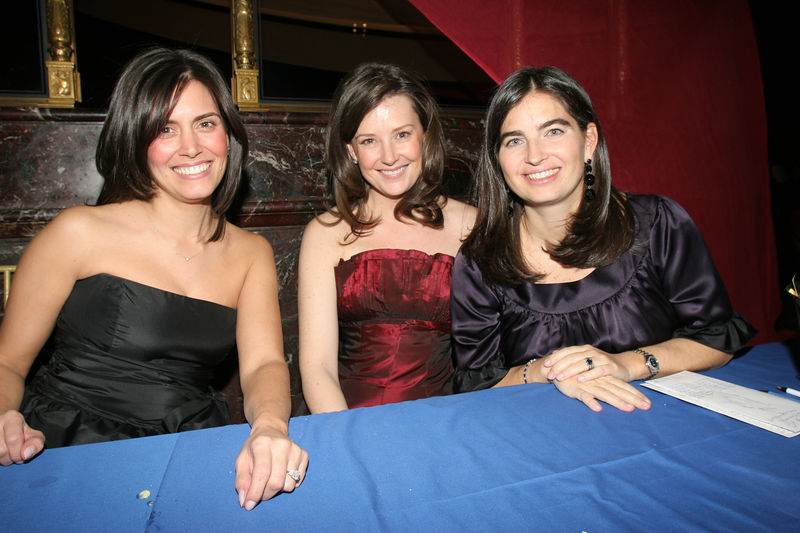 "NEW YORK-MARCH 4: New York Junior League Winter Ball 2005-2006 Volunteers (L-R) Noel Bettencourt Momsen, Jennifer Starrs Harding & Leigh Bishop Taub attend NEW YORK JUNIOR LEAGUE'S 54th Annual Winter Ball, ""Circo""  at Cipriani 42nd Street, 110 East 42nd Street, New York City, New York on Friday, March 4, 2006 (Photo Credit: Christopher London/ManhattanSociety.com)"