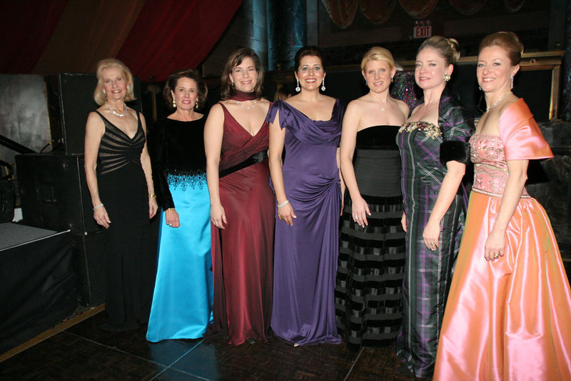 "NEW YORK-MARCH 4: <a href=""http://www.nyjl.org/winterball/npo.jsp?pg=special"">2006 Outstanding Sustainers & Volunteers</a>(L-R): Brenda Strauss, Pamela Sheiffer, Cheryl Bundy, Mari Dubois, Melissa Richards, Marion Hedges & Jeannie Trouveroy attend NEW YORK JUNIOR LEAGUE'S 54th Annual Winter Ball, ""Circo""  at Cipriani 42nd Street, 110 East 42nd Street, New York City, New York on Friday, March 4, 2006 (Photo Credit: Christopher London/ManhattanSociety.com)"