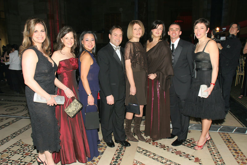 "NEW YORK-MARCH 4: New York Junior League Volunteers with members of the Maybach Teamattend NEW YORK JUNIOR LEAGUE'S 54th Annual Winter Ball, ""Circo""  at Cipriani 42nd Street, 110 East 42nd Street, New York City, New York on Friday, March 4, 2006 (Photo Credit: Christopher London/ManhattanSociety.com)"