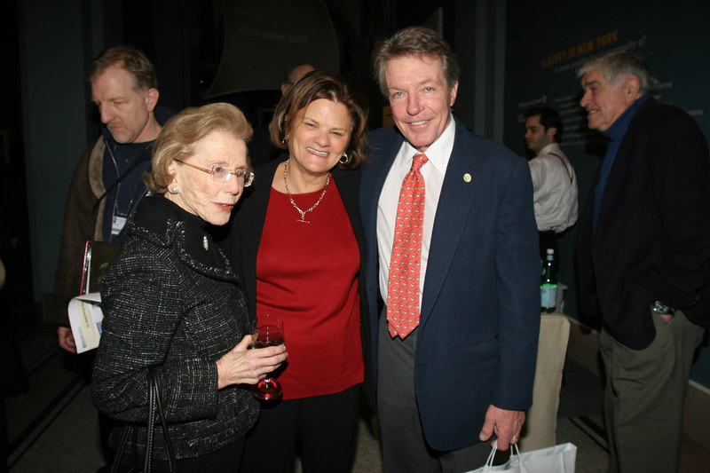 Mary Cronson, Betsy Gotbaum, and Dan Lufkin