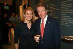 Kaitlin Wilson (New York Historical Society) and Dan Lufkin