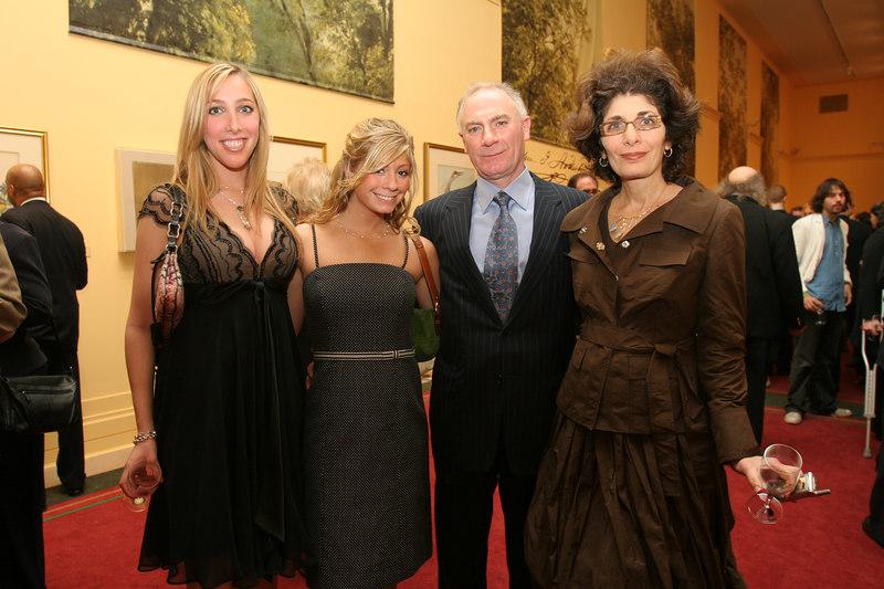 (L-R) Krystel Ariel, Ariel Oppenheimer, Joel Oppenheimer & Laura Oppenheimer