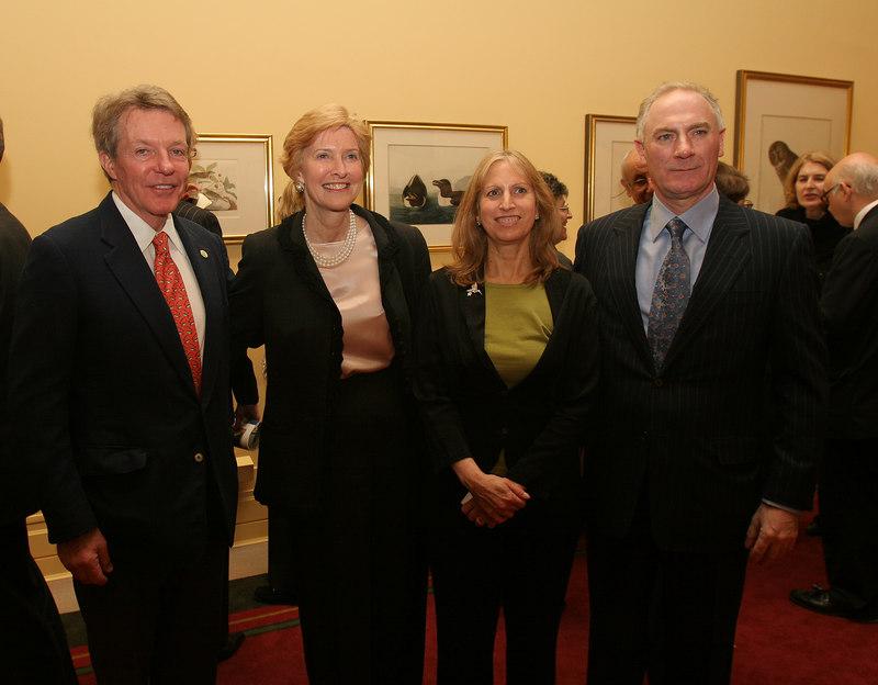 Dan Lufkin,Nancy Newcomb, Louise Mirrer & Joel Oppenheimer