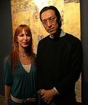 "Sara Tecchia & Artist <a href=""http://www.saratecchia.com/artists/makoto_fujimura/"">Makoto Fujimura</a>"