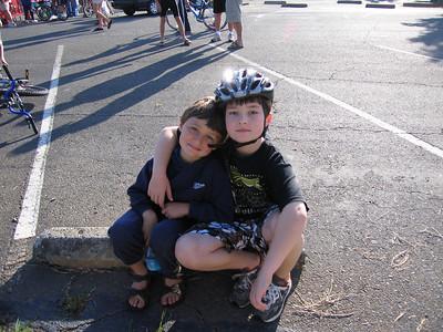 Matthew And Redmond Triathlon