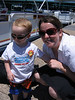 Tyler and mom Rushell (they are cool with the shades)