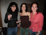 """Linda, <a href=""""http://www.green-pink.com/index.html"""">Miriam Songster</a> & <a href=""""http://www.zieffphoto.com"""">Karen Zieff</a>"""