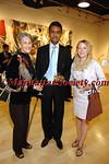 Adrian Garnett, Kent Charugundla (Gallery Owner) , Jana Bullock