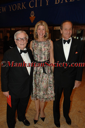 Dominick Dunne, Jamee & Peter Gregory
