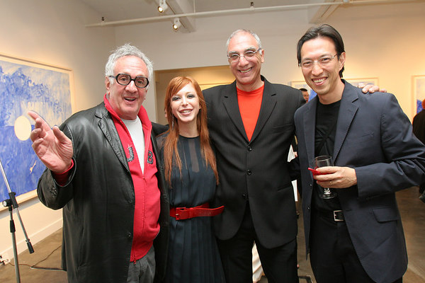 Sara Tecchia with her featured artists