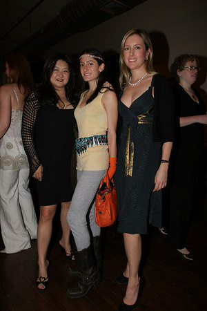 Susan Shin, Arden Wohl & Christine Cachot Williams at Stages of Learning Spring 2006 Gala Benefit