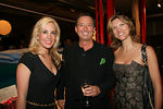 Designer Tracy Stern, Board Member Niko Elmaleh & Cathy Riva at the Stages of Learning Spring 2006 Gala Benefit