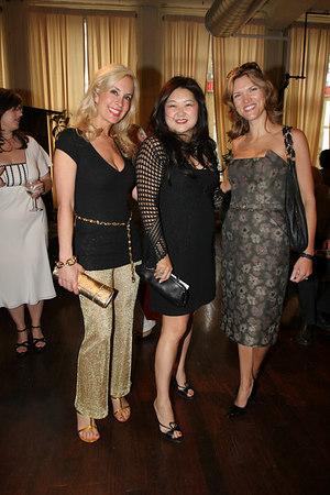 Tracy Stern, Susan Shin and Cathy Riva