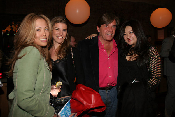 Heidi Miskin, Alessandra Rampogna, Geoffrey and Susan Shin