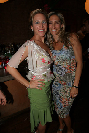 "Artist <a href=""http://www.brookechurchill.com/"">Brooke Bradford Churchill</a> and Dawn Palo"