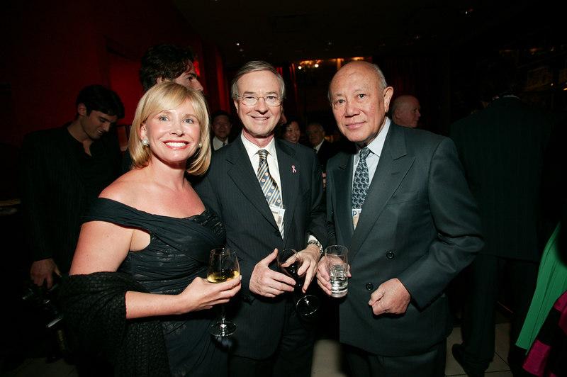 Sharon Bush, Dr. Michael Osborne & Gerald Tsai