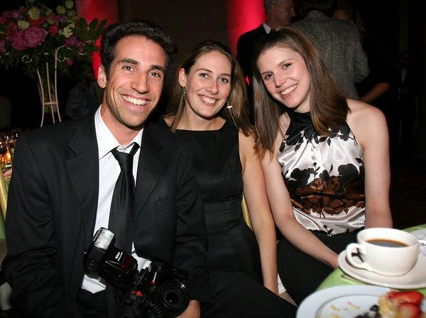 Photographer Joe Schildhorn, Elizabeth Hewitt & Katie Daniels