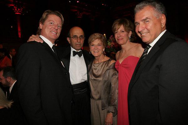 ?, Chancellor Joel Klein, Geraldine Ferraro, Ann Jackson & ?