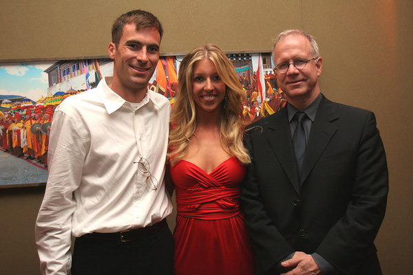 Trevor Patzer (founder of Little Sisters Fund), Jane Griffin and Chris Phelan (director of Special Events at RMA).