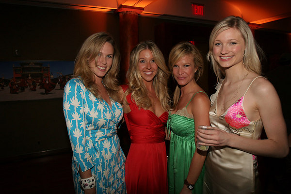 Jennifer Ireland, Jane Griffin, Leslie Gurkin and friend.