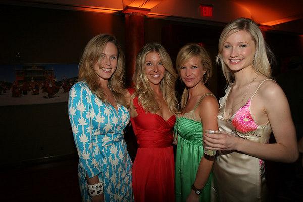 Jennifer Ireland, Jane Griffin, Leslie Gurkin and friend.